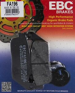 EBC Organic FRONT and REAR Disc Brake Pads 1990 to 2002 Honda ST1100 Non ABS