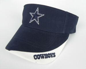 DALLAS-COWBOYS-NFL-VINTAGE-TWINS-ENTERPRISES-2-TONE-GAME-DAY-VISOR-CAP-HAT-NWT