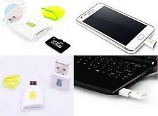 Micro USB Card Reader OTG SD For Samsung Galaxy S 2 3 4 I9100,I9300,I9400,Nexus7