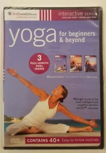 yoga for beginners  beyond 3 dvds inside  30 minute
