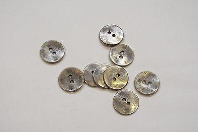 8pc 20mm Copper Ring effect Metal Blazer Coat Cardigan Knitwear Button 3587