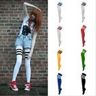 Sexy Women's Thigh High Over-Knee Athletic Soccer Rugby Sports Fashion Tube Sock