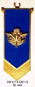 """Federazione Italiana Motociclistica 6° Giro D'italia 1967 Ciondolo """"443"""" Fan Apparel & Souvenirs F.i.m"""
