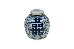 Cute-Blue-and-White-Floral-Double-Happiness-Porcelain-Ginger-Jar-4-5-034
