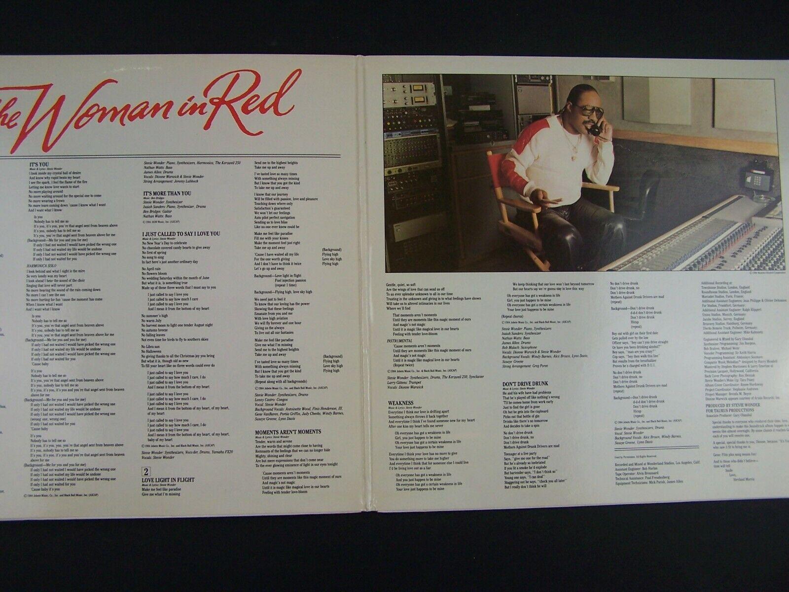 Stevie Wonder - The Woman In Red Original Soundtrack Vi