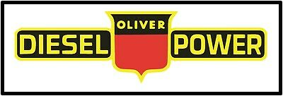 Oliver Tractors New Metal Sign /& 66 w// Plows Attached 77 Models 88