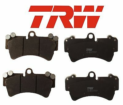 For Audi Q7 Porsche Cayenne VWn Touareg Front Disc Brake Pads Set TRW GDB1548
