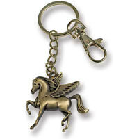 Horse Guardian Angel Key Chain