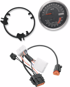 Details about Drag Specialties MPH Sdo Sdometer Tach & Harness for on