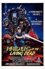 Raiders Of Living Dead Poster 01 Metal Sign A4 12x8 Aluminium