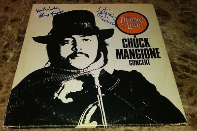 Records Entertainment Memorabilia The Best Chuck Mangione Music Legend Signed Autographed Album Cover W/coa Authentic C Top Watermelons