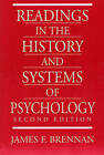Readings in the History and Systems of Psychology by James F. Brennan (Paperback, 1997)