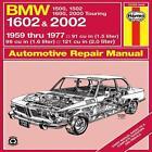 B. M. W. 1602 and 2002 Owner's Workshop Manual von Peter G. Strasman und J. H. Haynes (1988, Gebundene Ausgabe)