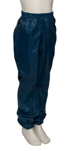 Ladies Girls Navy Blue Dance Nylon Ripstop Warm Up Sweat Pants By ... 76728b3a3