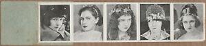 Dorothy Gish 1920s Galeria de las Estrellas del Cine - Mini Film Star Folder E1