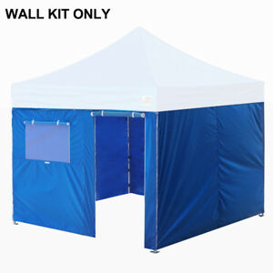 10x10 Enclosure Side Walls Kit Zipper Panels For Ez Pop Up