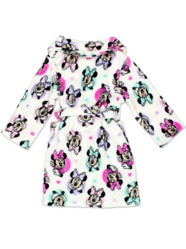Minnie Mouse Girl/'s Plush Fleece Bathrobe Robe 21MW633GRD