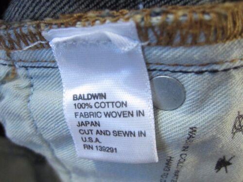BALDWIN USA SELVEDGE THE SAMUEL DARK BLUE 30 SLIM STRAIGHT JEANS MENS NWT NEW