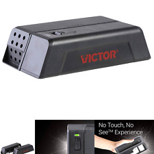 No See Upgraded Indoor Electronic Mouse Trap 1 Trap,Black Victor M250S No Touch