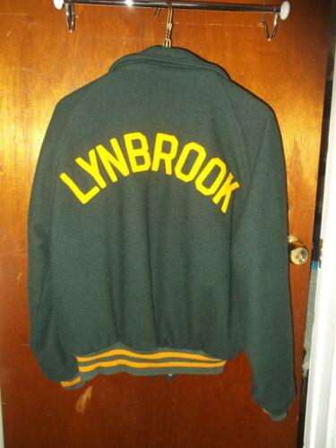 Vintage Varsity Jacket * Lynbrook High School Long