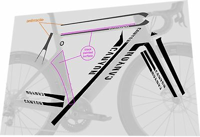 Canyon Vinyl Decal Stickers Frame Replacement Adhesive Set Aufkleber 14 Pcs