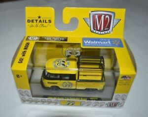 2018 M2 MACHINES AUTO MOON 1960 VW DOUBLE CAB TRUCK USA MODEL WMTS08
