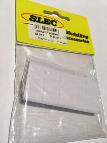 25x12x1.6mm SLEC Double Sided Servo Tape Pads x 20