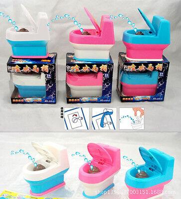 Funny Toilet Bowl Supernatural Water Gun Toy Mini Interesting For Kids H2