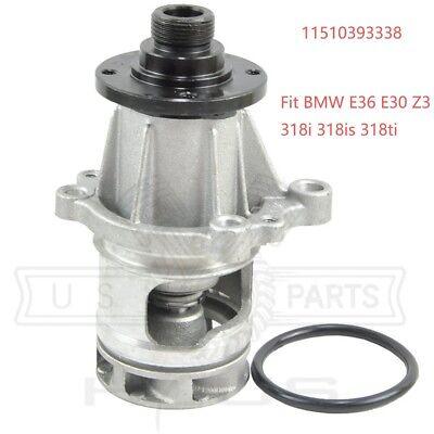 For BMW E30 E36 318i 318iC 318is 318ti Z3 1.9 Engine Water Pump w// O-Ring