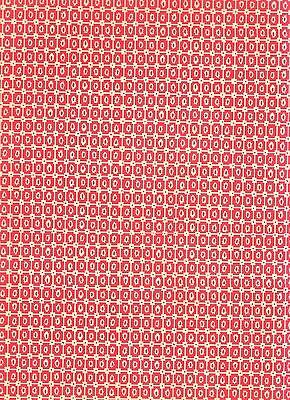Überzugspapier Italienisches Buntpapier 50 x 70 cm rot Carta Varese