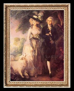 1700/'s Gentleman /& Horse Miniature Dollhouse Art Picture