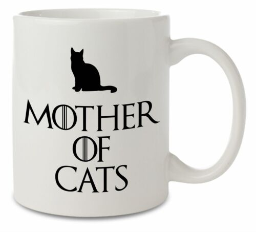 Mother of Cats Game of Thrones Inspired Ceramic Mug