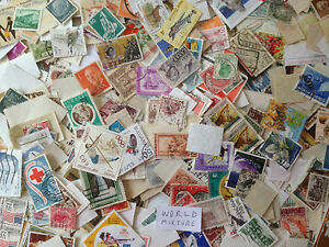 100-Grams-World-off-paper-Mixture-over-1000-stamps