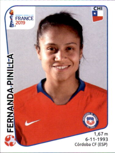Panini Frauen WM 2019 Sticker 451 Chile Fernanda Pinilla