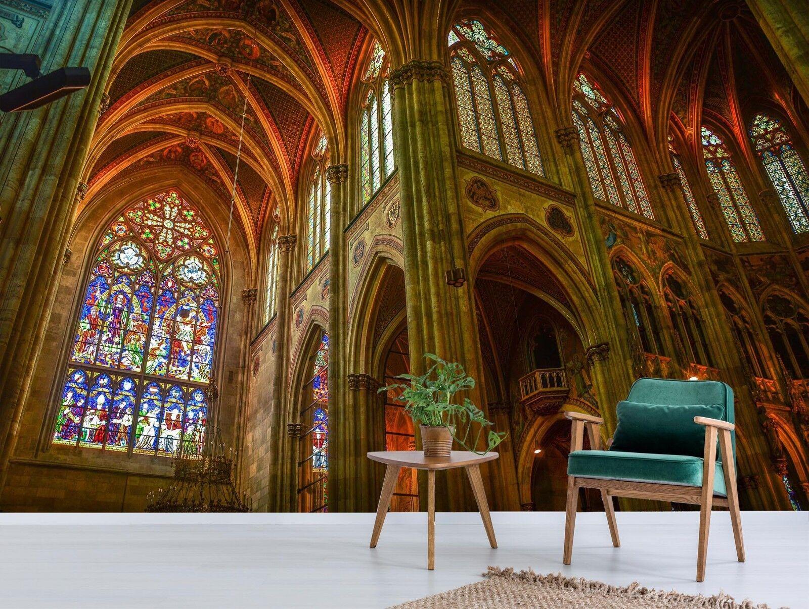 3D Palast Lobby 7092 Tapete Wandgemälde Tapete Tapeten Bild Familie DE Sidney