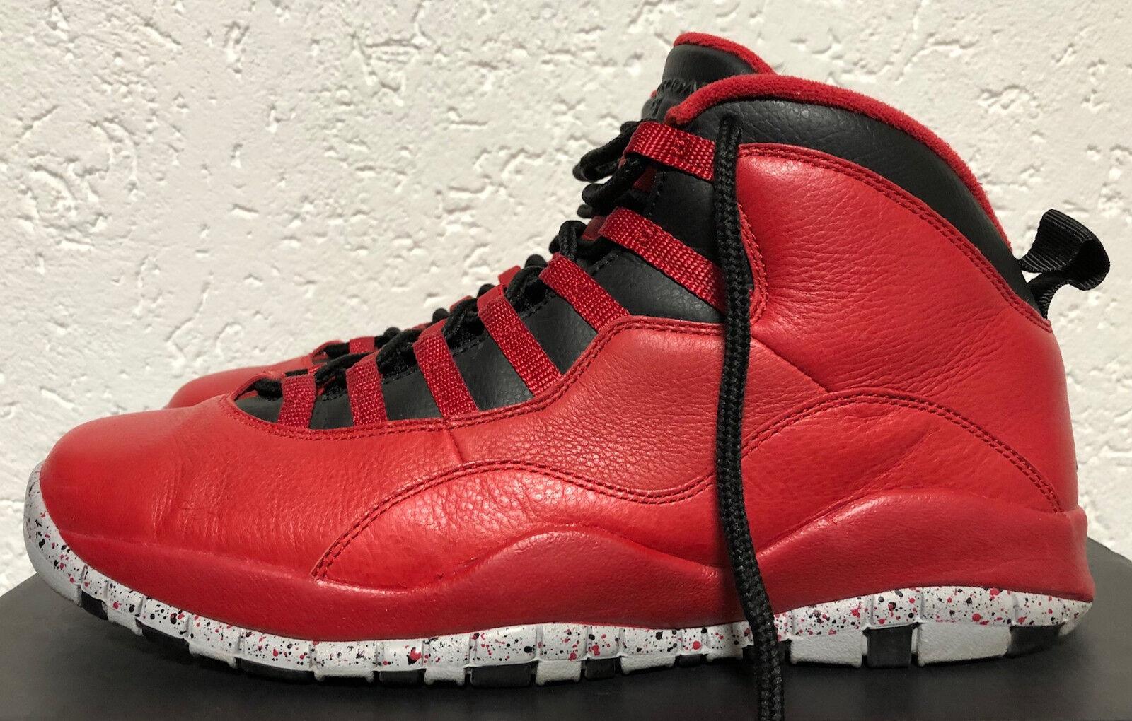 Air Jordan retro 10 US 10,5 EU 44,5 im top Zustand gym rot