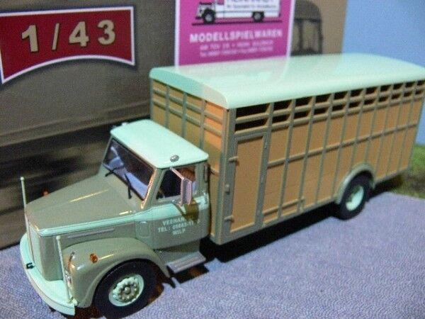 1 43 Ixo scania lb 65 meterme camión camión 1960