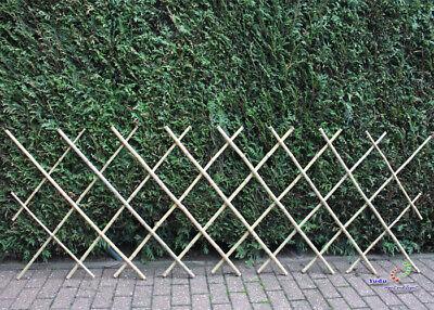 Bambus Scherengitter Bambuszaun Rankgitter Bis 230cm Lang 100% Original