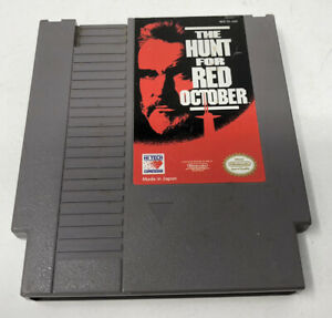 The-Hunt-for-Red-October-Nintendo-NES-Polished-Pins-Cleaned-amp-Tested-Authentic