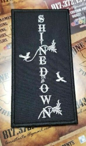 EMBROIDERED SHINEDOWN ROCK BAND VERTICAL PATCH