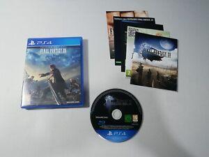 Final Fantasy XV Sony PS4 CD Near Mint