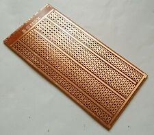 1pc 5x10cm Stripboard Prototype Circuit Perf Board Bus Breadboard Vero Pcb