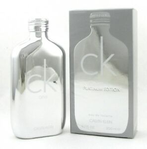 CK-One-Platinum-Cologne-by-Calvin-Klein-6-7-oz-EDT-Spray-Unisex-New-in-Box