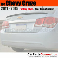 Painted Abs Trunk Spoiler For 11 Chevy Cruze Sedan Wa403p Imperial Blue Met Fits Cruze