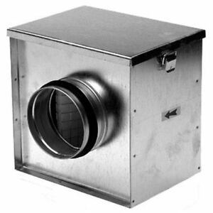 FILTER BOX 150mm - DUCTING - VENTILATION - EXTRACTOR FAN ...