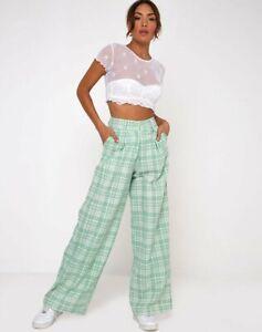 MOTEL-ROCKS-Yeva-Trousers-in-Table-cloth-Neo-Mint-Medium-M-MR85