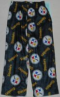 Pittsburgh Steelers Nfl Team Apparel Youth Pajamas Lounge Pants M 10-12 L 14-16