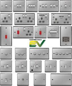 Humble Bg Nexus Chrome Interrupteurs & Prises-gamme Complète-satin/brossé/poli-afficher Le Titre D'origine Dernier Style