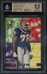 1995-Stadium-Club-Members-Only-Bruce-Smith-Gem-Mint-BGS-9-5-Buffalo-Bills-HOF