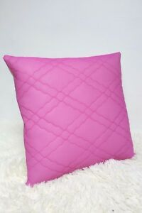Retro-Cushion-Cover-16x16-034-Original-60s-70s-Purple-Fabric-Quilted